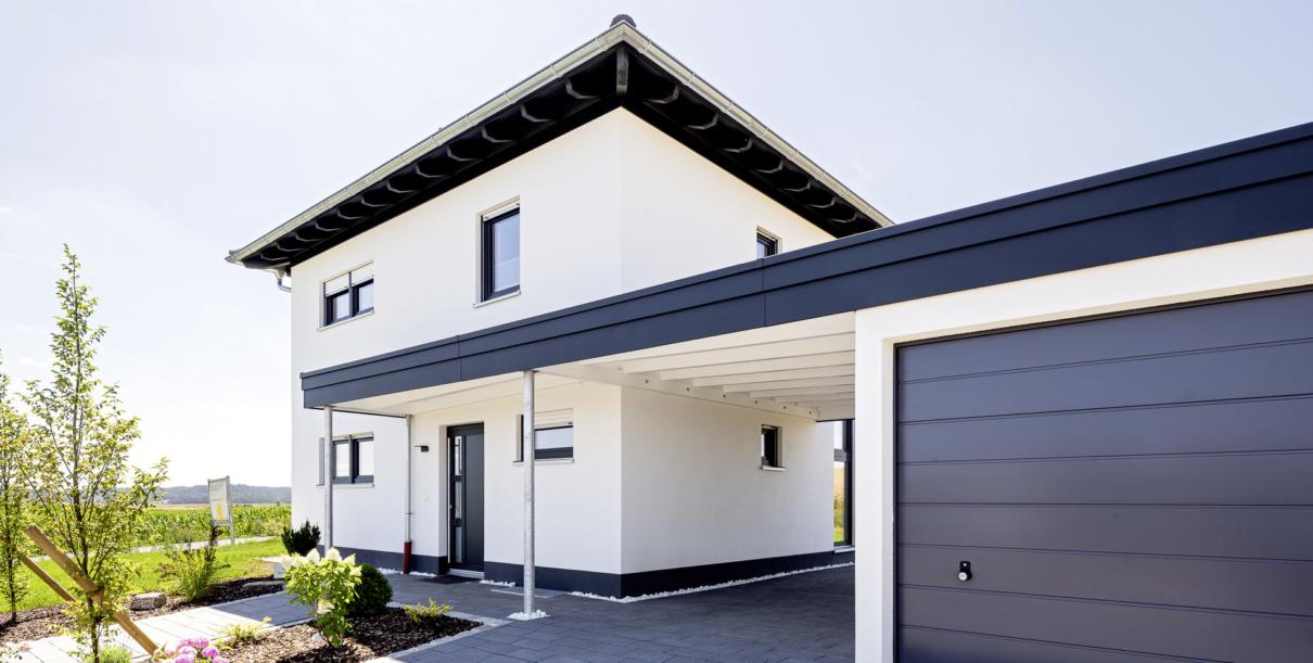 Schopf und Teig - Coburg Rödental - Musterhaus Hausbau