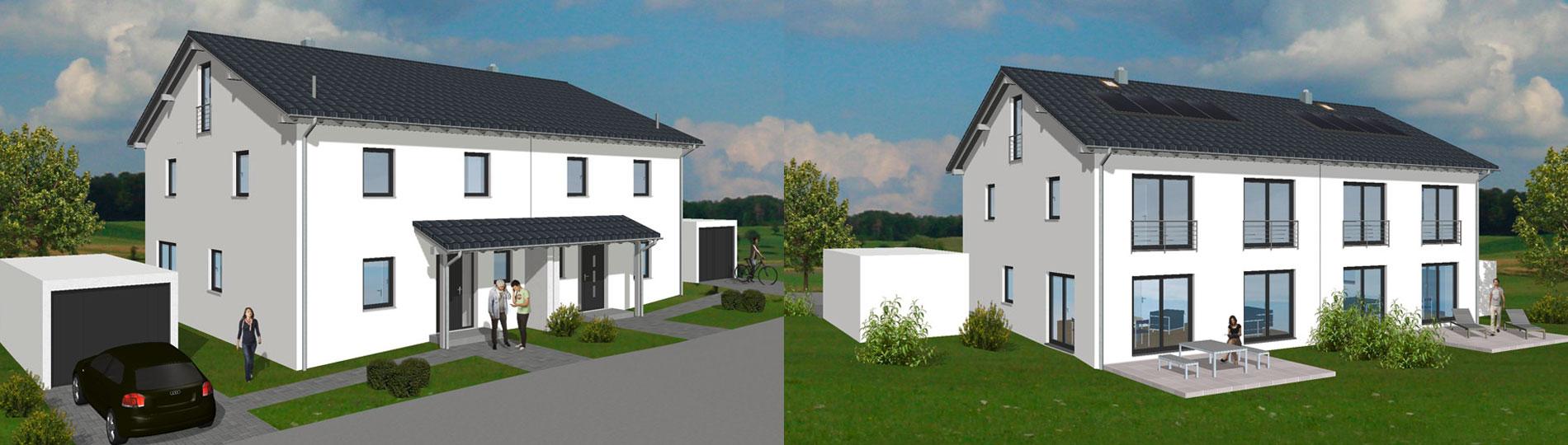 Doppelhaus - Lautertal Hofwiese 8+10