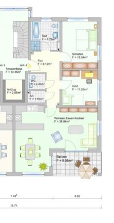 Wohnanlage in Oberlauter - Eigentumswohnung - Grudriss Wohnung 6+13