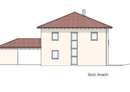 Einfamilienhaus Rödental Einberg - Ansicht Nord