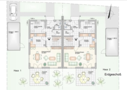 Doppelhaus in Lautertal - Hofwiese 8+10 - Erdgeschoss