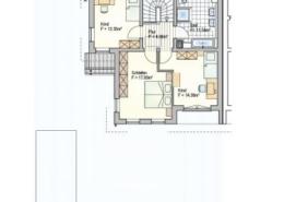 Doppelhaus in Lautertal Hofwiese 7 - Obergeschoss