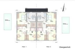 Doppelhaus in Lautertal - Hofwiese 8+10 - Obergeschoss
