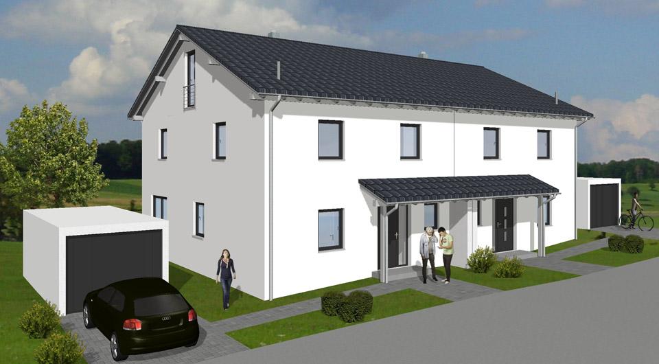 Doppelhaus in Lautertal - Hofwiese 8+10