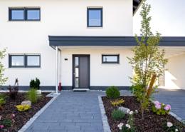 Schopf und Teig Musterhaus - Eingang