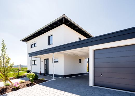Schopf und Teig Musterhaus - Garage