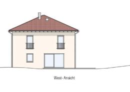 Einfamilienhaus Rödental Einberg Ansicht West