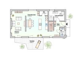 Haus Ben Erdgeschoss