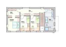 Haus Ben Obergeschoss