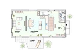 Haus Ben Erdgeschoss Variante