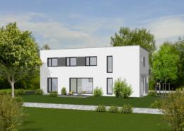 Haus Ben - Flachdach - Einfamilienhaus bauen