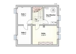 Haus Felix Kellergeschoss