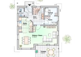 Haus Felix Erdgeschoss Variante