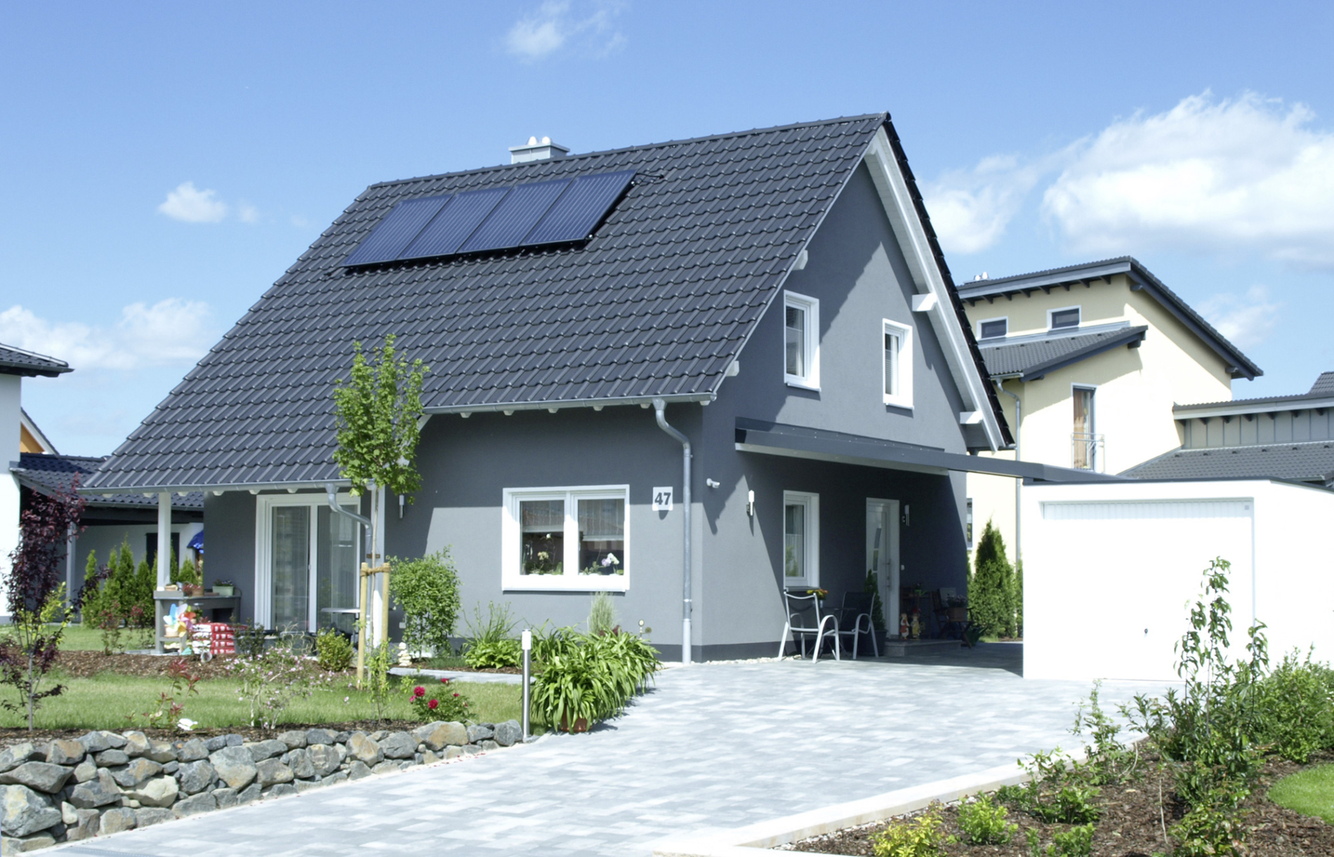 Haus Felix - Satteldach - Haus bauen Einfamilienhaus