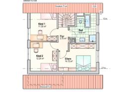 Haus Jonas Dachgeschoss
