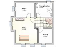 Haus Leon Kellergeschoss
