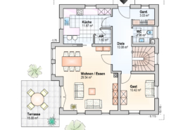 Haus Leon Erdgeschoss Variante