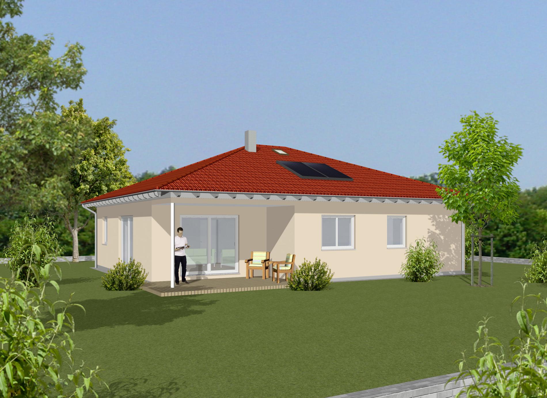 Haus Louis - Walmdach - Einfamilienhaus