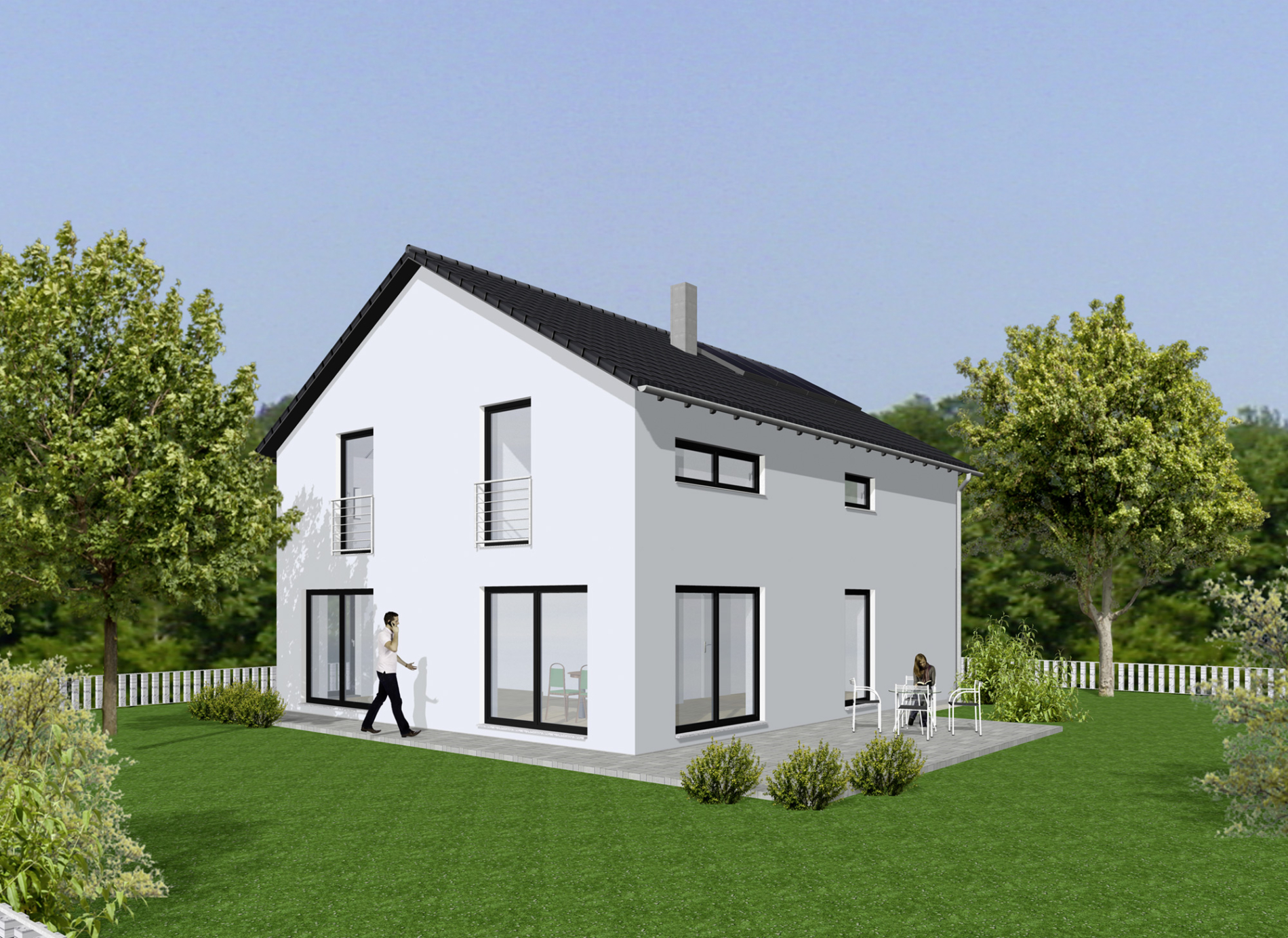 Haus Luca - Satteldach - bauen in Coburg