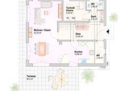 Haus Luca Erdgeschoss Variante