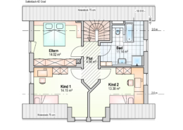 Haus Philipp Dachgeschoss