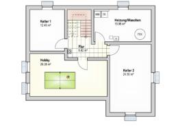Haus Silas Kellergeschoss