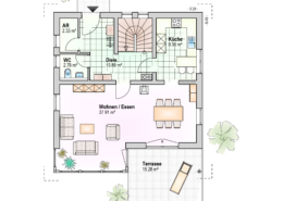 Haus Jonas Erdgeschoss Variante