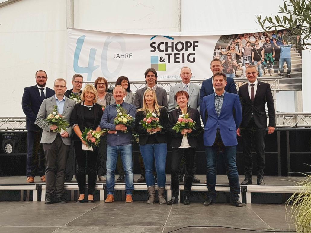 Jubiläum 40 Jahre Schopf & Teig